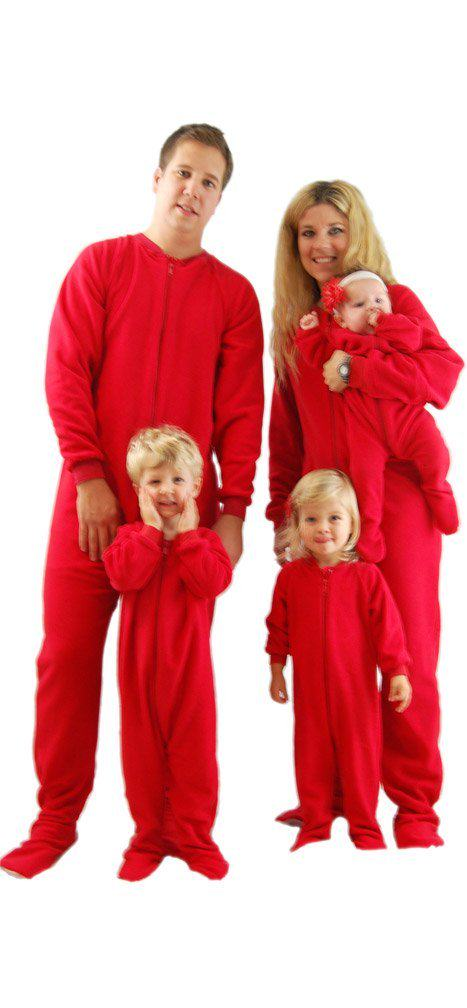 Footed Pajamas for Adults