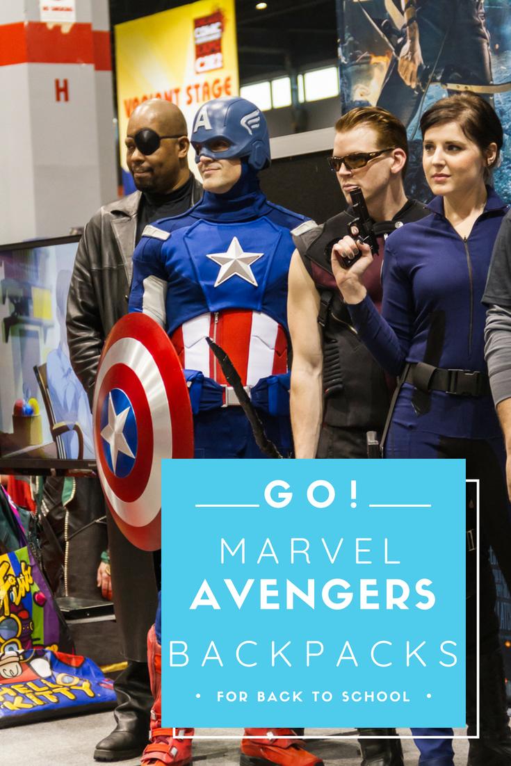 Marvel Avengers Backpacks For Back To School e260b9f29b3fd