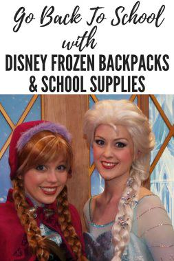 Disney Frozen Backpacks