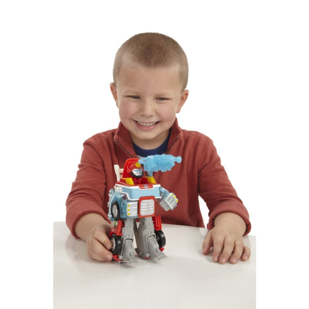 Heatwave Transformers Rescue Bots