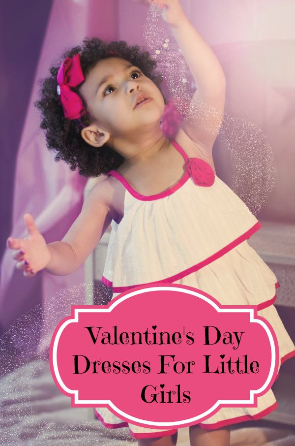 Adorable Girls Valentines Day Dresses Fun Unique Gift