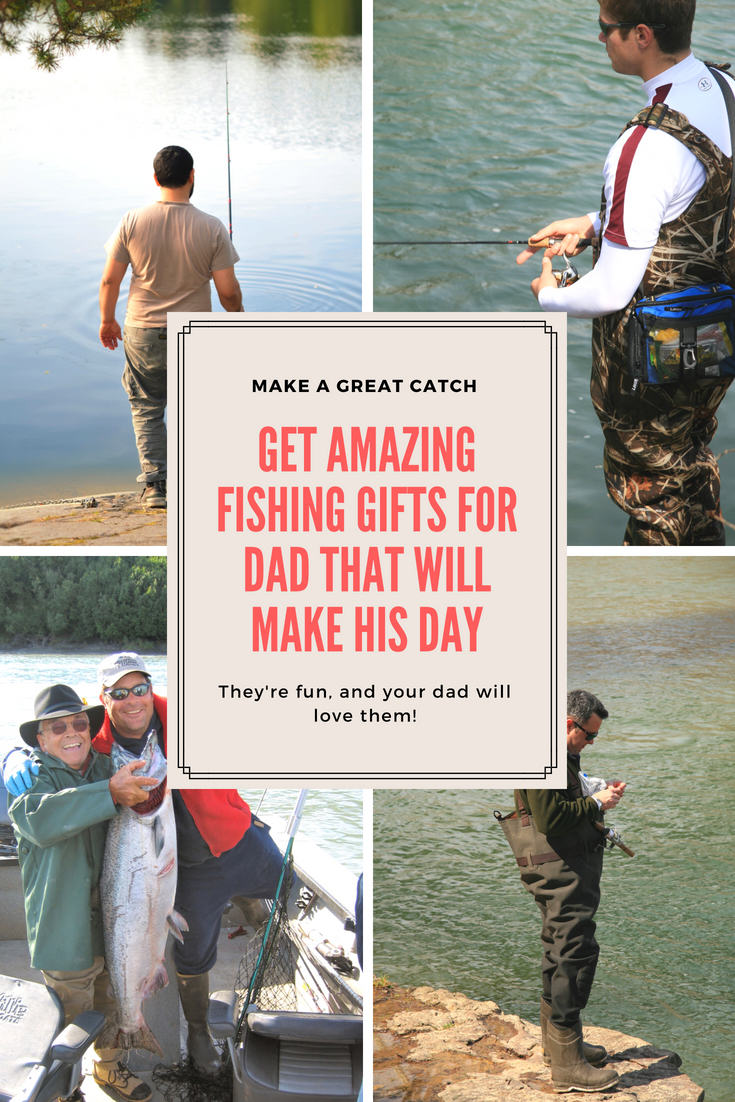 Get amazing fishing gifts for dad that will make his day for Fishing gifts for dad