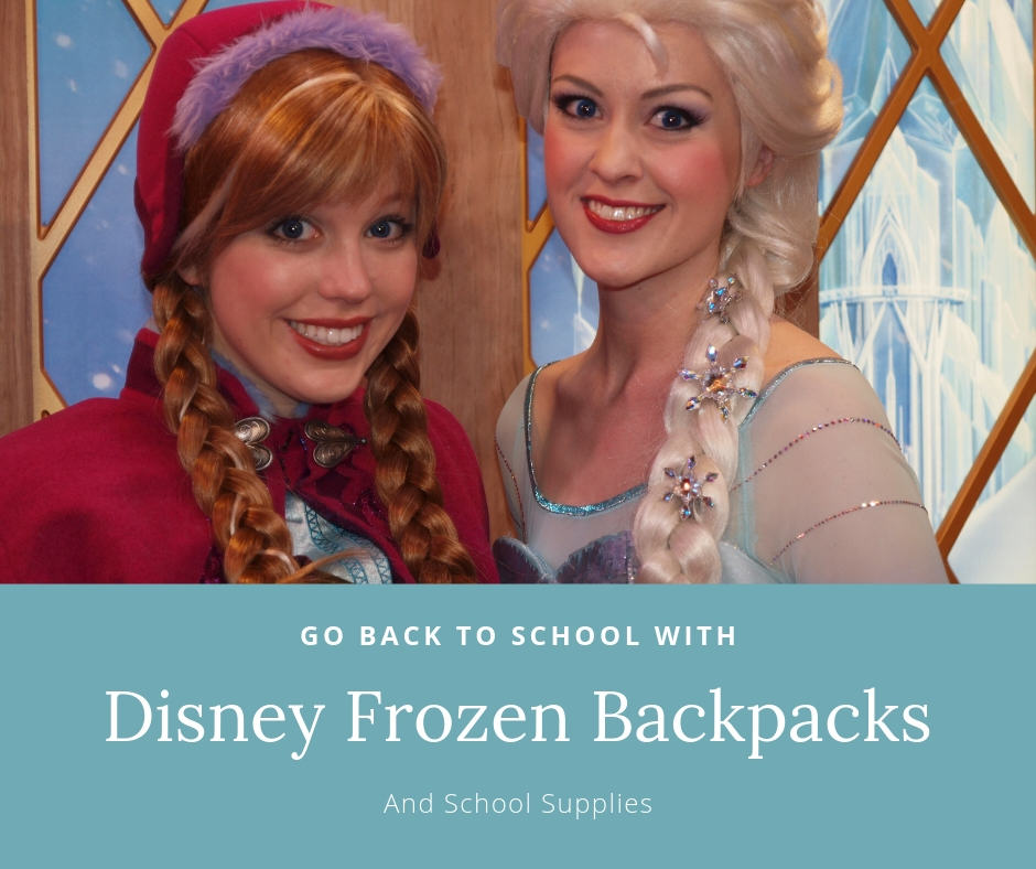 01281a681ca Back To School With Disney Frozen Backpacks   School Supplies
